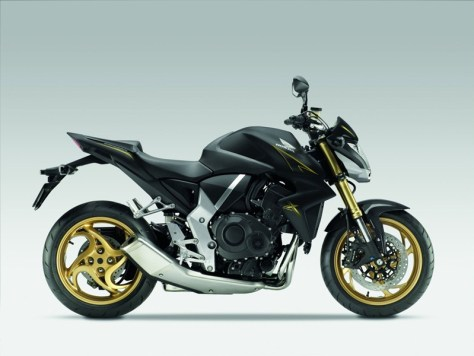 2012 Honda CB1000R - Matt Gray and Gold 02