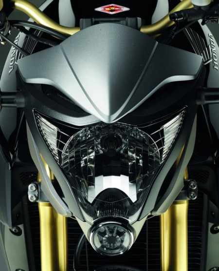 2012 Honda CB1000R - Matt Gray and Gold 05