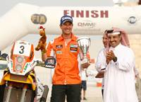 Sealine Cross Country Rally Marc Coma wins