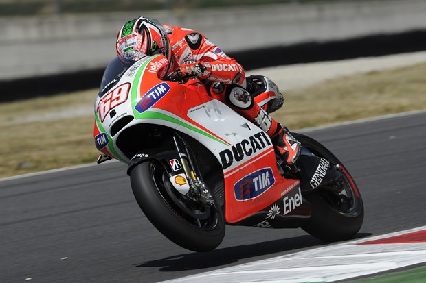 MotoGP 2012 Mugello Ducati qualifying performance report