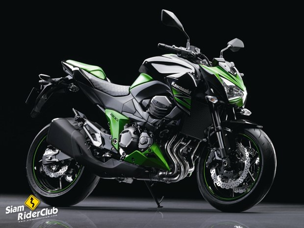 Kawasaki Z800 2013 first pictures