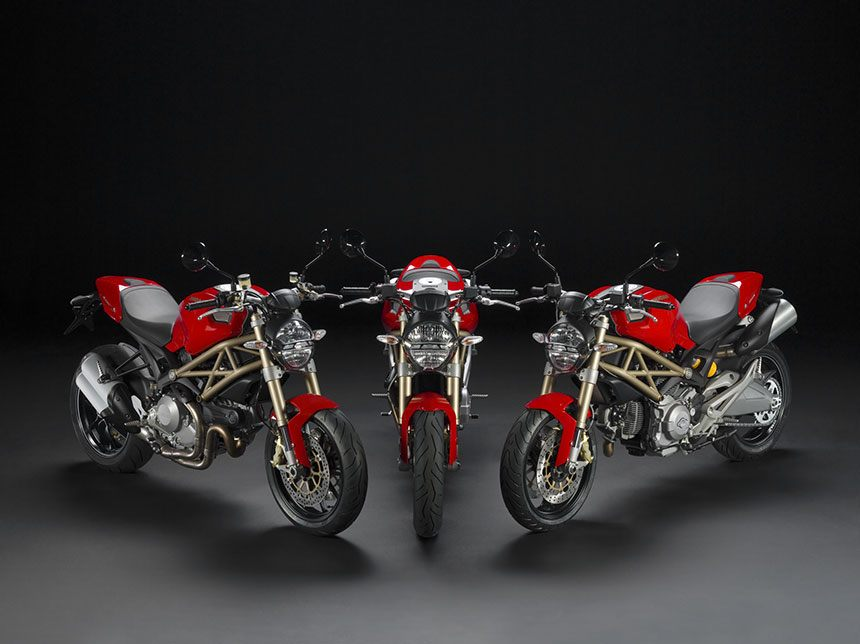 ducati monster 20th anniversary edition