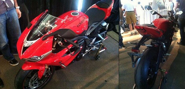 new triumph daytona 675 for 2013