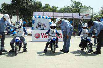 Yamaha Safe Riding Science India