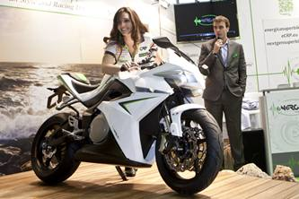 eCRP Energica electric sports bike