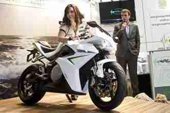 eCRP Energica electric sports bike