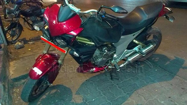 Mahindra Mojo launch soon spotted testing
