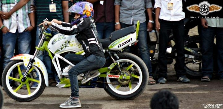 anam hasim - stunt girl india - 07