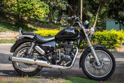 Royal Enfield Thunderbird 500 side view right