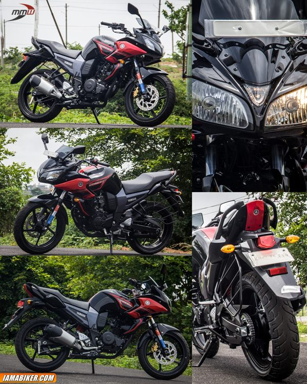 yamaha fazer review looks feel and build quality