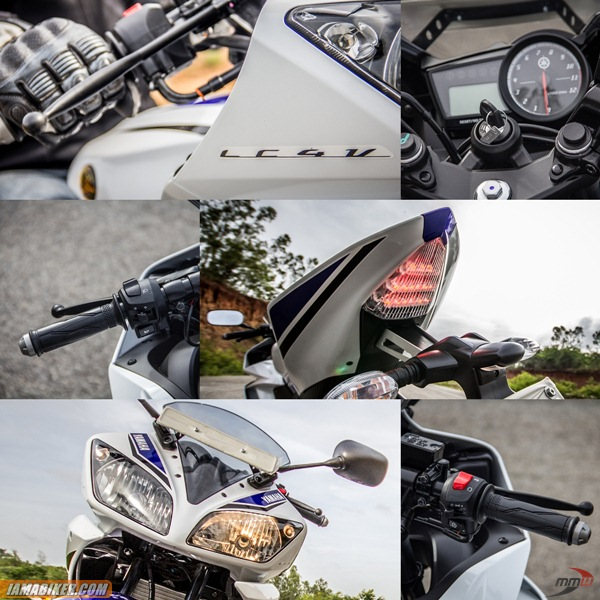 yamaha-yzf r15 v2-review-Accessories-and-Key-features