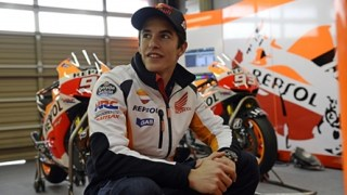 Marc Marquez second Sepang test
