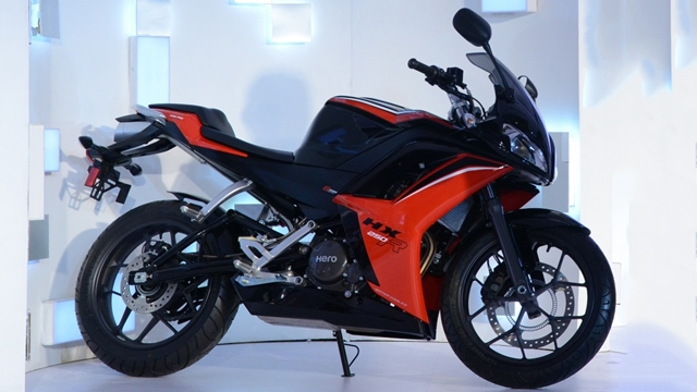 hero hx250r price and specifications - exhaust photo