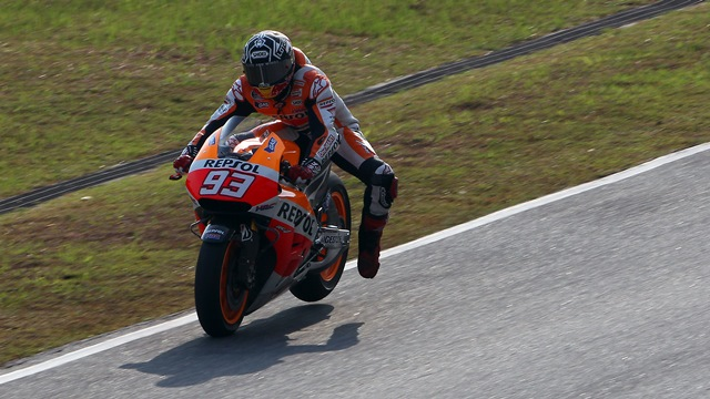 marc marquez MotoGP Sepang test day 3 timings