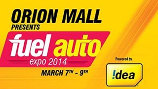 Fuel Auto Expo Orion Mall Bangalore