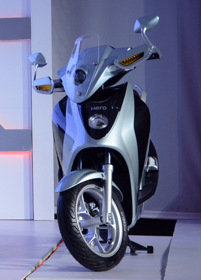 Hero Leap Hybrid scooter India