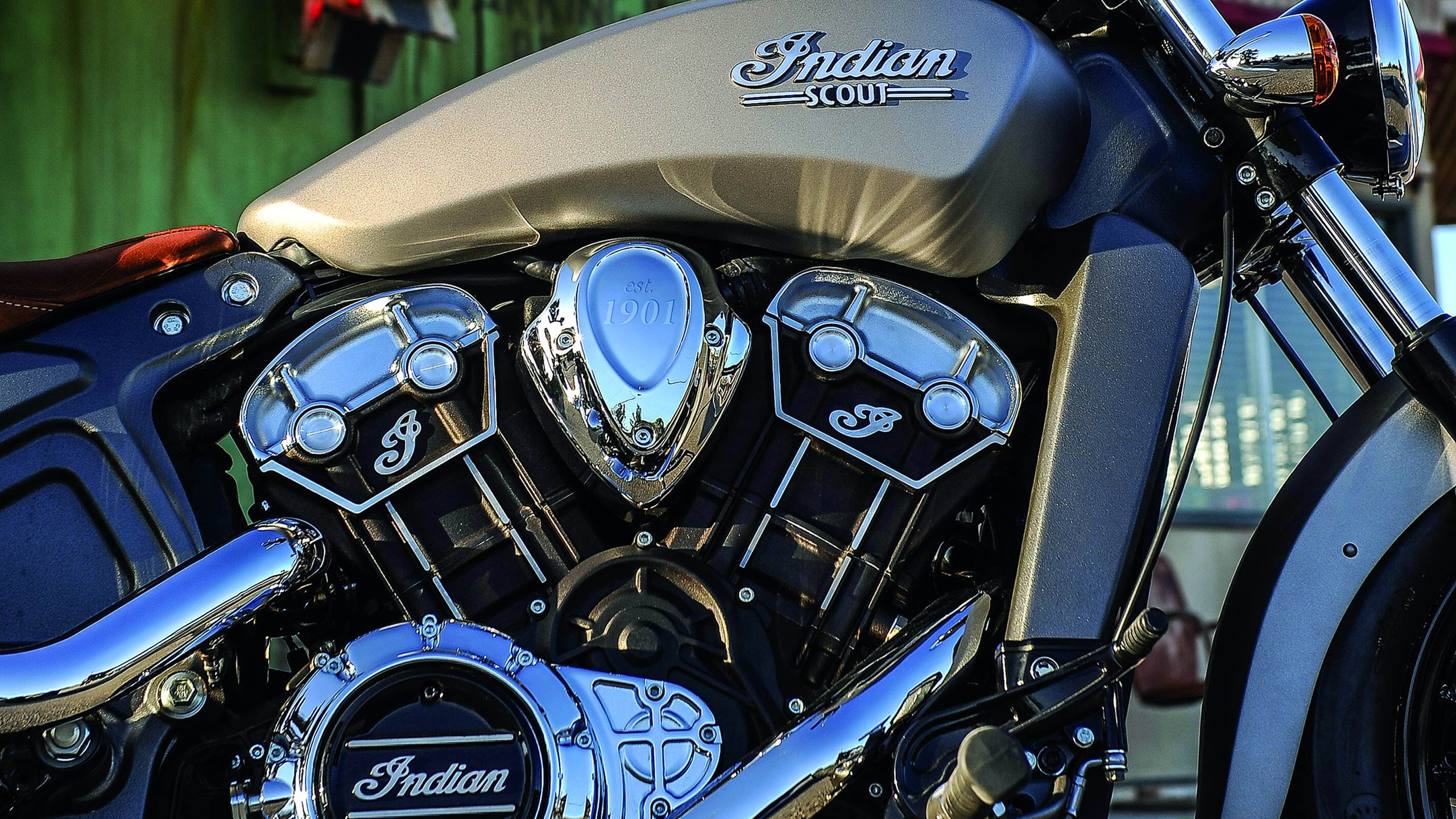2015 Indian Scout launched - engine