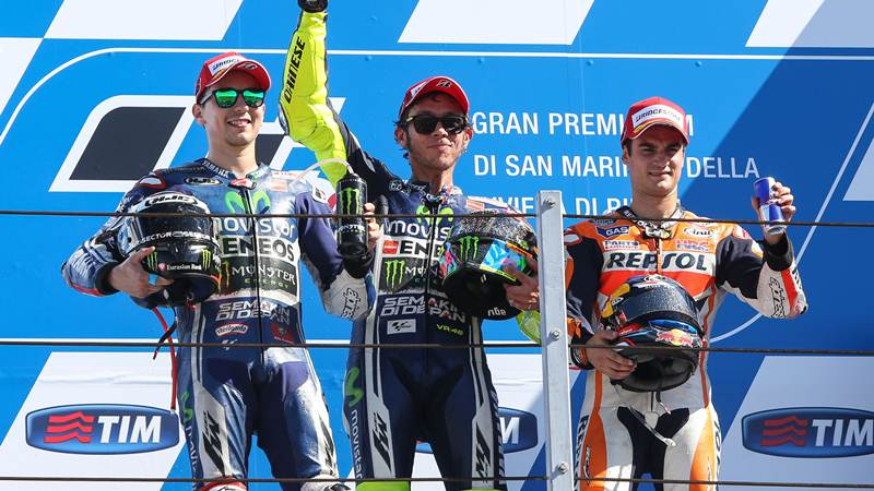 Valentino Rossi wins MotoGP Misano 2014