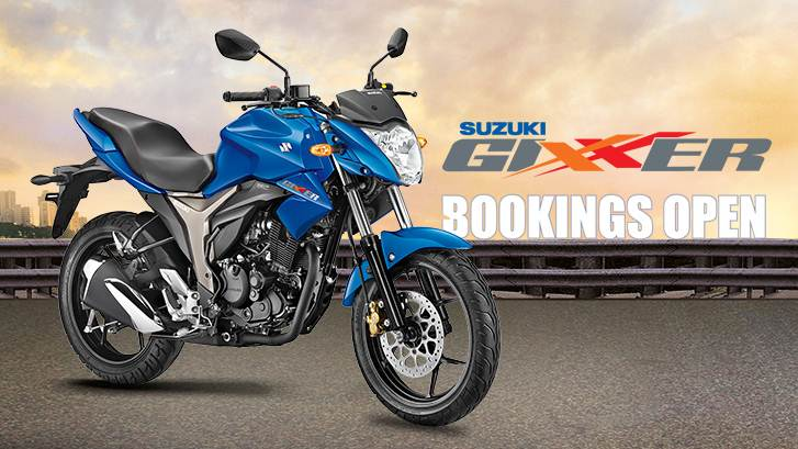 suzuki gixxer launch