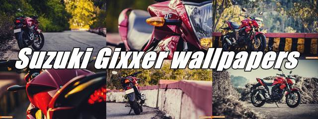 Suzuki Gixxer 155 HD wallpapers for download