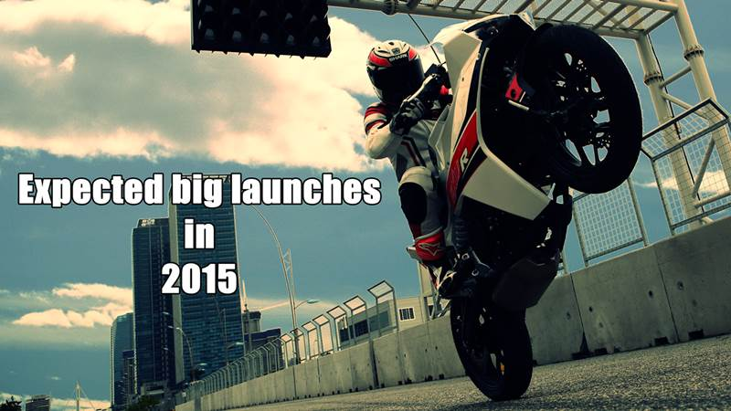 Expected bike lauches in 2015