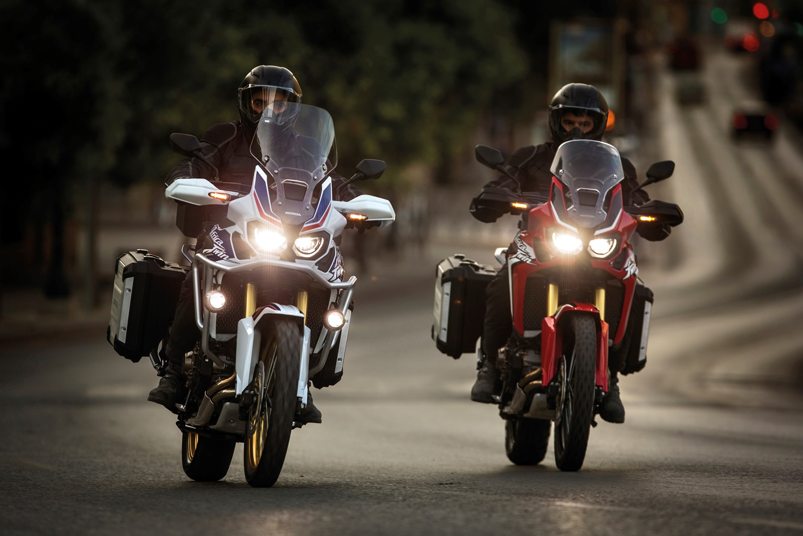2016 Honda CRF1000L Africa Twin colour options