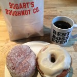 Doughnuts in Minneapolis. He even let me use the mug I bought him!