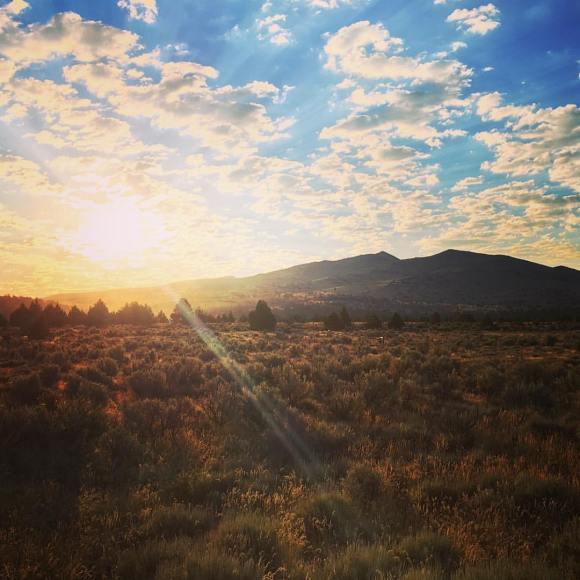 Morning sunrise.