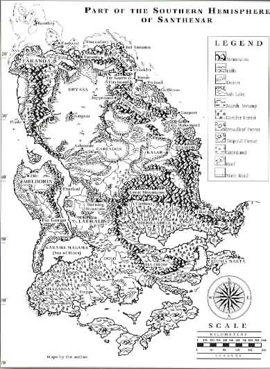 Santh - final map