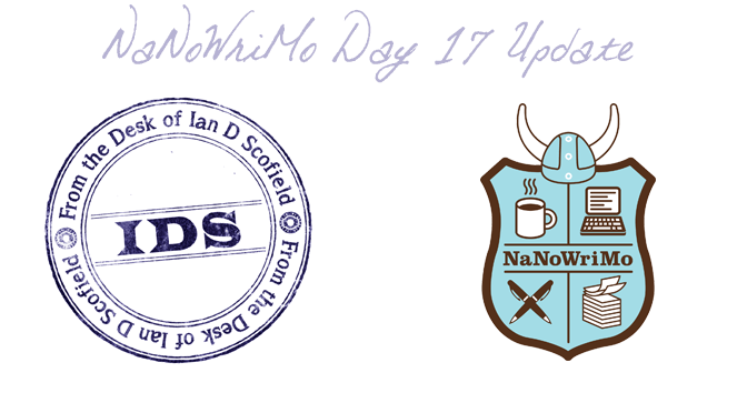 NaNoWriMo Synopsis – Day 17 Update