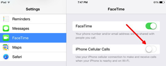 how to make calls from my mac to my iphone