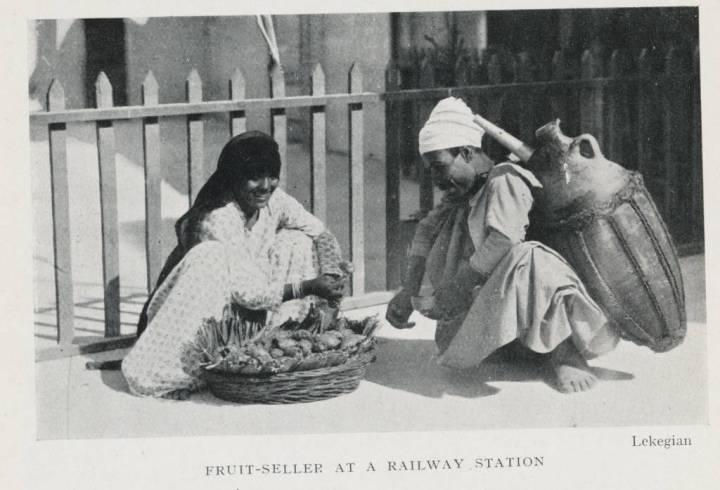 Fruit-seller_at_a_Railway_Station_(1906)_-_TIMEA