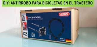 evitar robo de bicicleta en el trastero