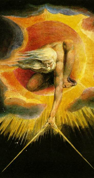 "William Blake ""The Ancient of Days"""
