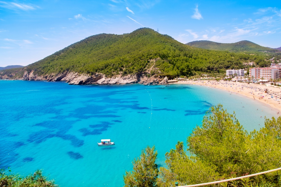 The Beaches of Ibiza Island