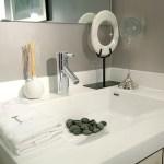 Rain Condos - model suite bathroom