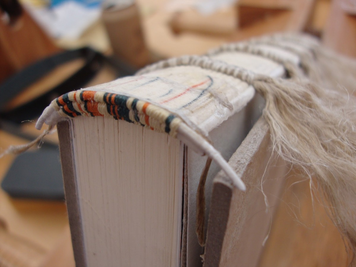 12. Making Bookbinding Headbands Tutorial