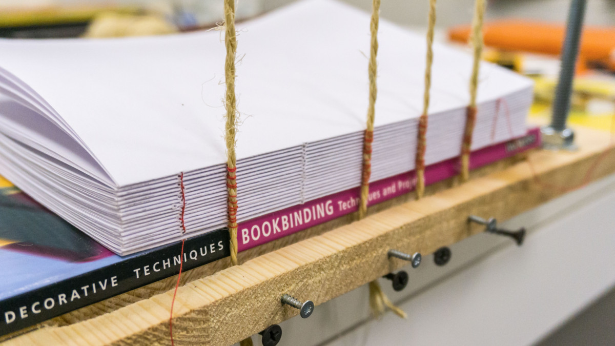 Simple Sewing Frame for Bookbinders Version 2.0 at My Etsy Store