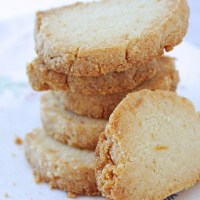 Lemon Almond Shortbread Cookies (Low Carb & Gluten Free)