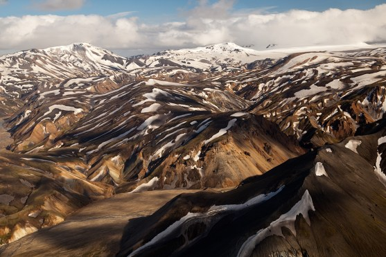 Flying over Landmannalaugar (AG)