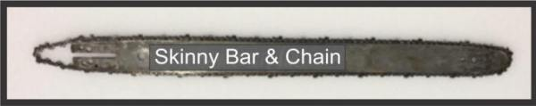 skinny bar and chain