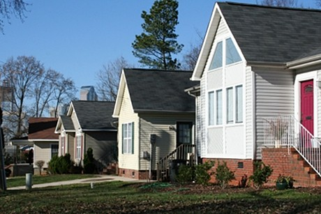 Old Charlotte community Cherry Homes