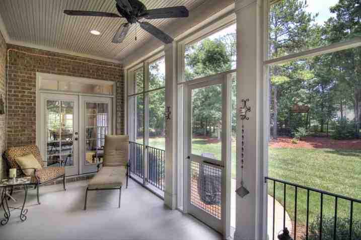 Kingsmead home for sale with screened porch and fabulous backyard