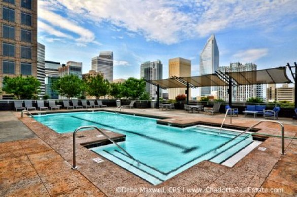 Charlotte Uptown Luxury Condos for Sale in The TradeMark