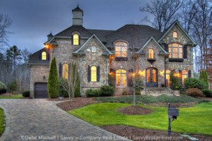 Luxury home in gated community Charlotte NC