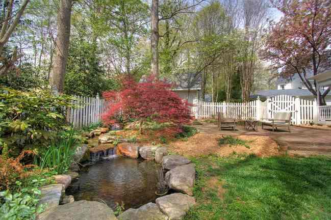Fabulous backyard in Downing Place Charlotte NC