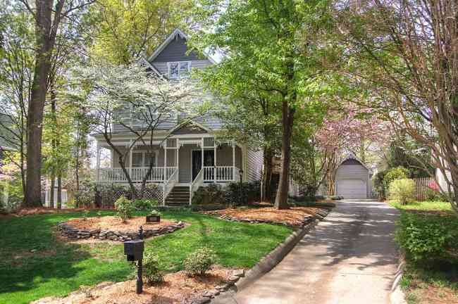 Victorian Style Home for Sale Charlotte NC