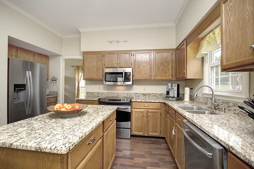 Fabulous updated kitchen in this Raeburn home for sale