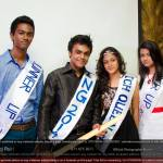 Batch king and queen at the Freshers' Night 2015