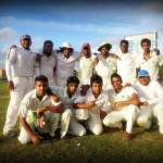 CCS cricket team win against IIT at  Shalika Grounds